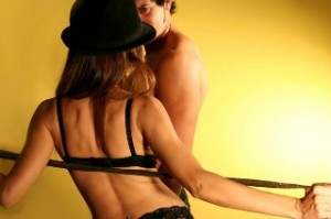 Strip-tease sexy