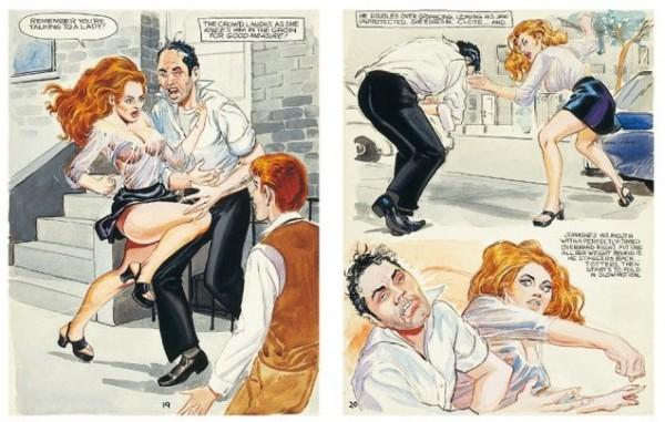 quadrinhos eróticos por Stanton